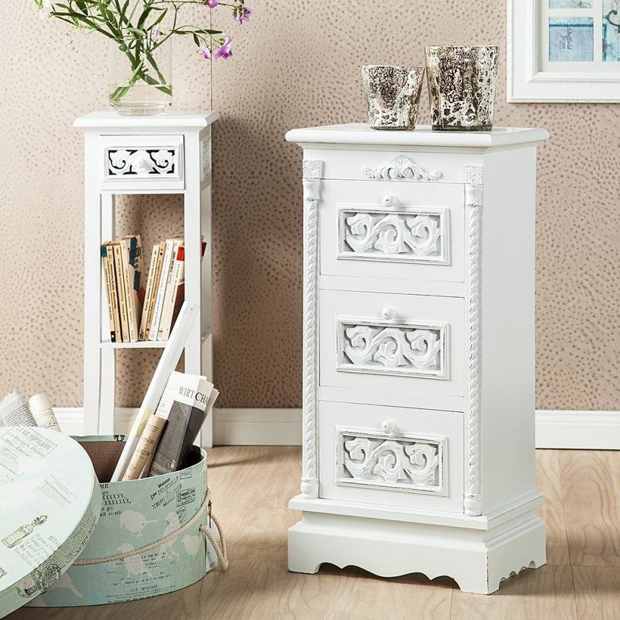 komoda szafka nocna rosalie shabby chic wybierz styl shabby chic mieszkanie meble. Black Bedroom Furniture Sets. Home Design Ideas